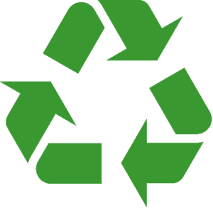 cedar springs tiny living community recycling icon
