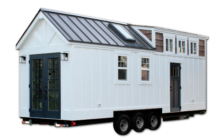 the maverick model tiny house